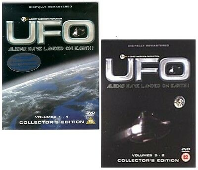 ❏ UFO Complete Series 1 + 2 Volumes 1-8 Gerry Anderson TV All 26 Episodes New ❏