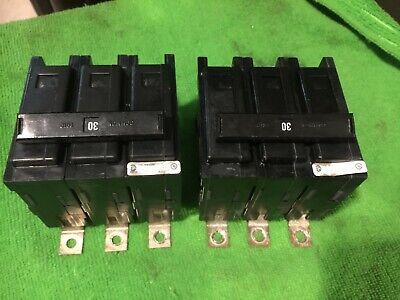 EATON Cutler Hammer QBHW 3 pole 30 amp 240v QBHW3030H Circuit Breaker