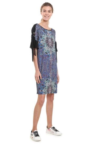 Desigual Black /& Blue Mandala Design Yamina Dress XS-XXL UK 8-18 RRP £84