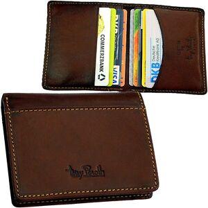 Tony-Perotti-11-Faecher-flach-1cm-Kreditkartenetui-Leder-Scheckkartenetui-Neu