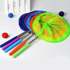 Kids Extendable Fishing Net Telescopic Handle Fish Bug Butterfly Insect Fun Toy