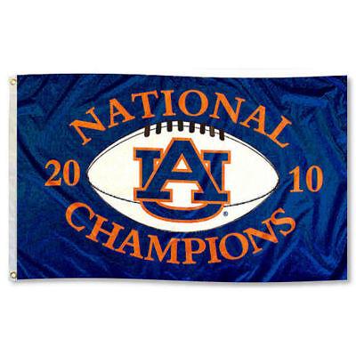 Auburn University National Champions Garden Flag and Yard Banner