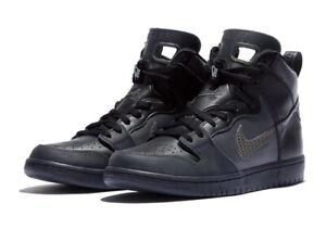 Nike-SB-Dunk-High-Pro-PRM-Black-Dark-Grey-BV1052-001-SIZE-12-IN-HAND