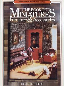 VTG-The-Book-of-Miniatures-Furniture-amp-Accessories-Ruthberg-Mini-Tiny-Chilton