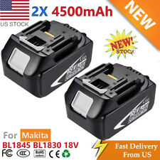 18V 3.0Ah BL1830 Battery LXT400 LITHIUM-ION FOR Makita BL1845 CORDLESS 2 Pack