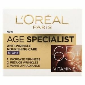 L-039-Oreal-Paris-Age-Specialist-65-Night-Face-Cream-Anti-Aging-Hydrates-Skin-50ml