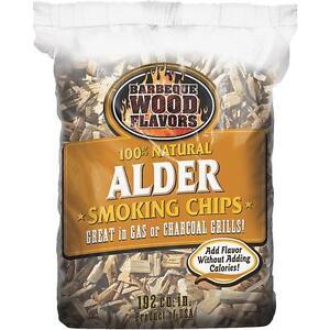 Barbeque Wood Flavor Alder Wood Chips Ebay