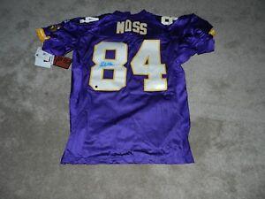 new arrival 0ecec 05435 Details about 1998 Minnesota Vikings Randy Moss Authentic Autographed  Football Jersey COA HOF