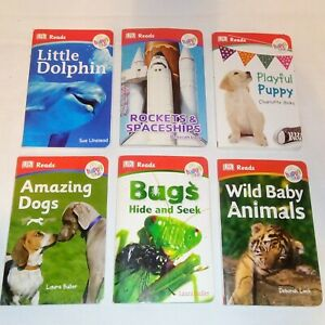McDonald-039-s-Happy-Meal-Toys-DK-Reads-BOOKS-Lot-of-6-Books