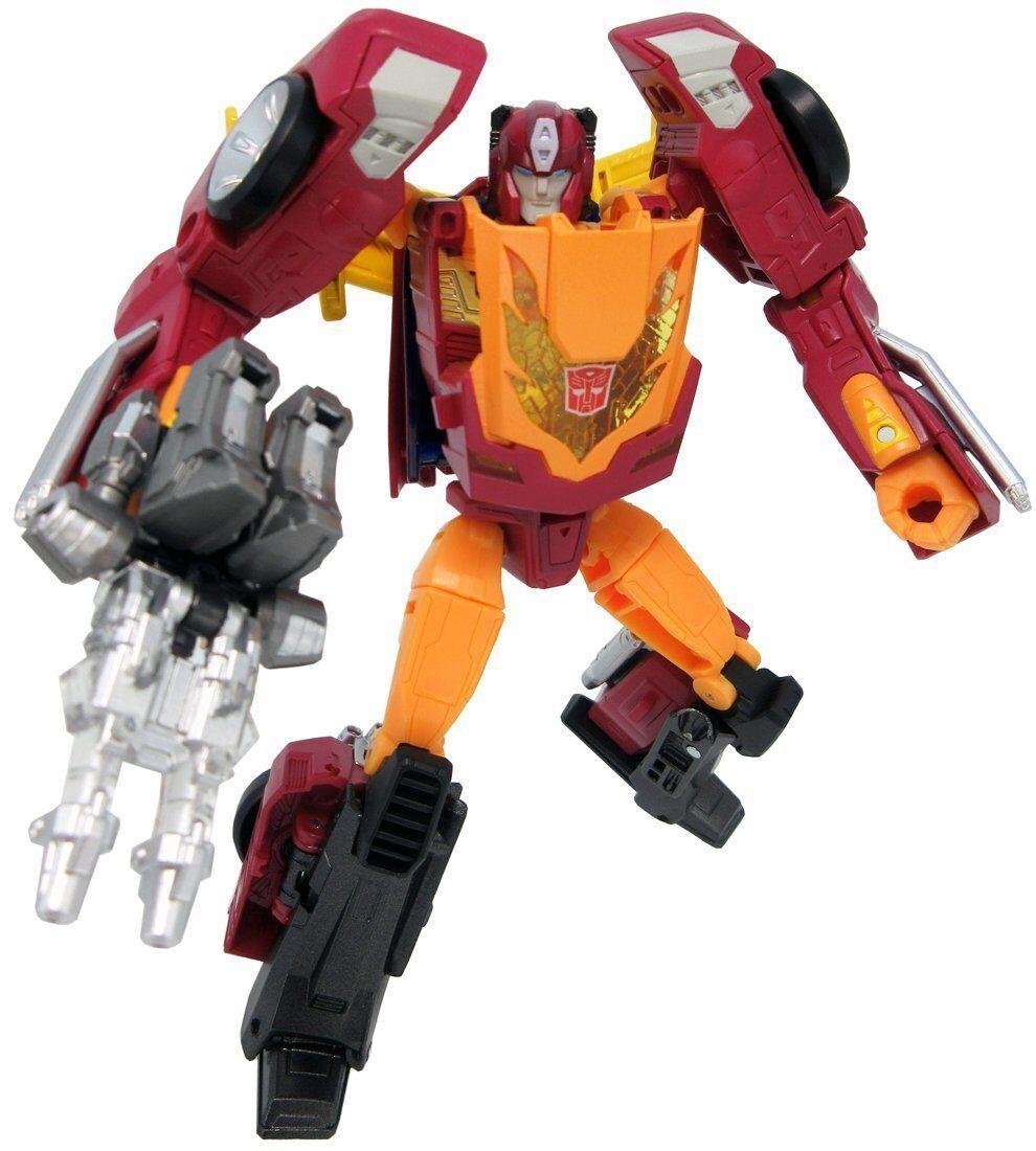 Takara Tomy Transformers LG 45 Target Master Hot Rodimus Action Figure