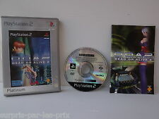 Dead Or Alive 2 - Platinum -  JEU PLAYSTATION 2 - PS2 - avec notice