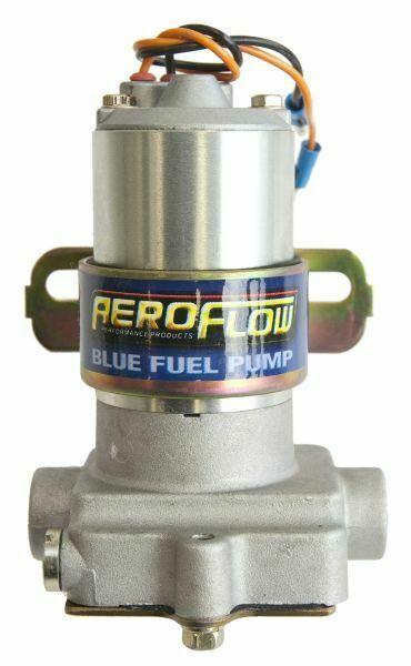 "Aeroflow Blue Fuel Pump 14 Psi 110 Gph 3/8"" Barb Or F/Male 3/8"" NPT AF49-1009"