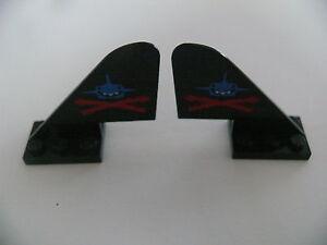 Lego-2-queues-d-avion-noires-set-6155-6190-6135-2-black-tail-decorated