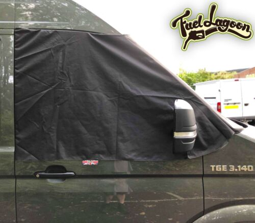 Windscreen cover black out blind Frost Protect Deluxe NEW MAN TGE 2017