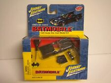 NEW JOHNNY LIGHTNING BATMAN BATMOBILE 1960'S DIE CAST CAR MODEL KIT 1/64 SCALE