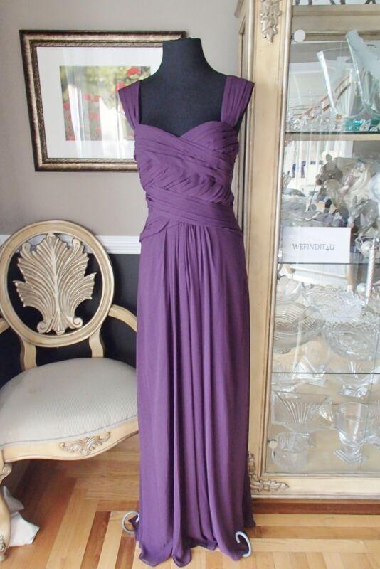 A1648 Monique Lhuiller 450036 Sz 12 Pflaume Sz 12 Party Formell Kleid RegelmäßIges TeegeträNk Verbessert Ihre Gesundheit