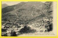 cpa France Vallée de la Vésubie LANTOSQUE (Alpes Maritimes) Vue Générale en 1907