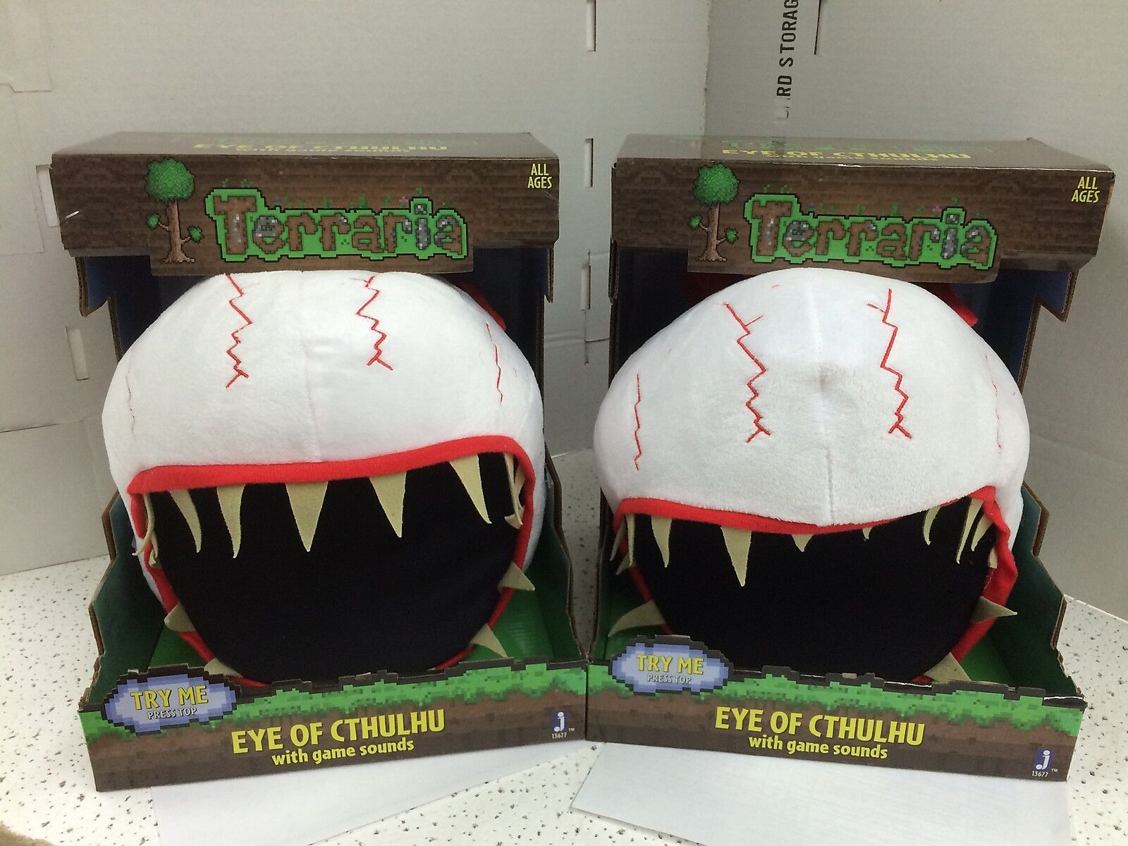 TERRARIA Skeletron and Eye of Cthulhu Cthulhu Cthulhu Feature Plush  Soft Toys Case(2 + 2)=4 164571