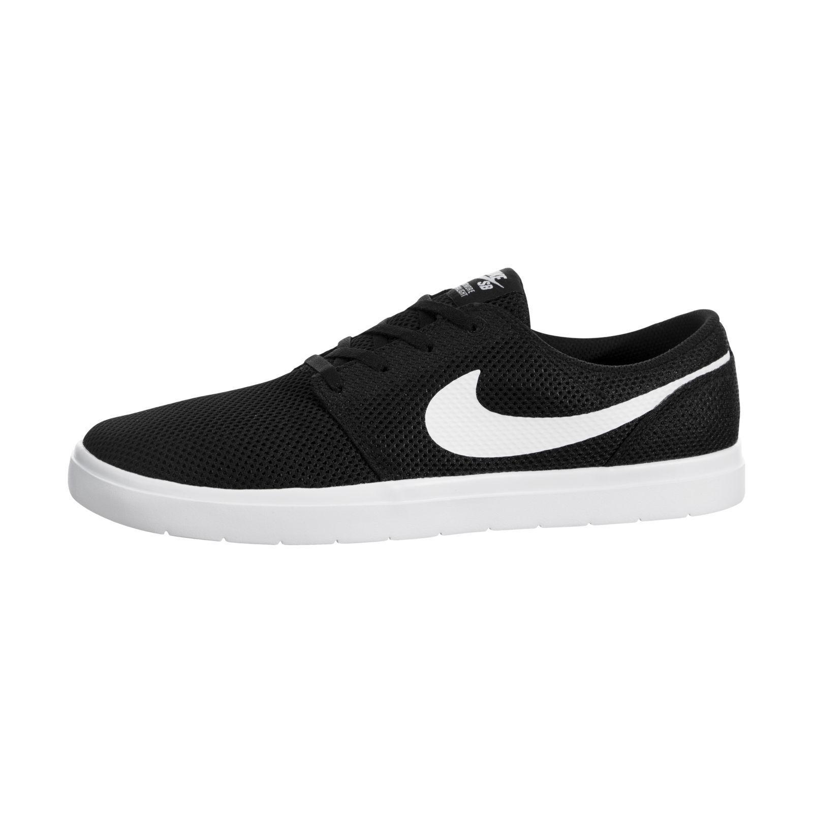 Nike SB Portmore II Ultralight Black / White