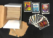 1970's Wacky Sticker Lot with Mixed Backs