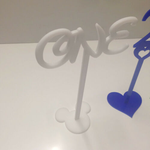 Coloured Plastic Wedding Birthday Table Numbers Various Sizes Syles /& Colours