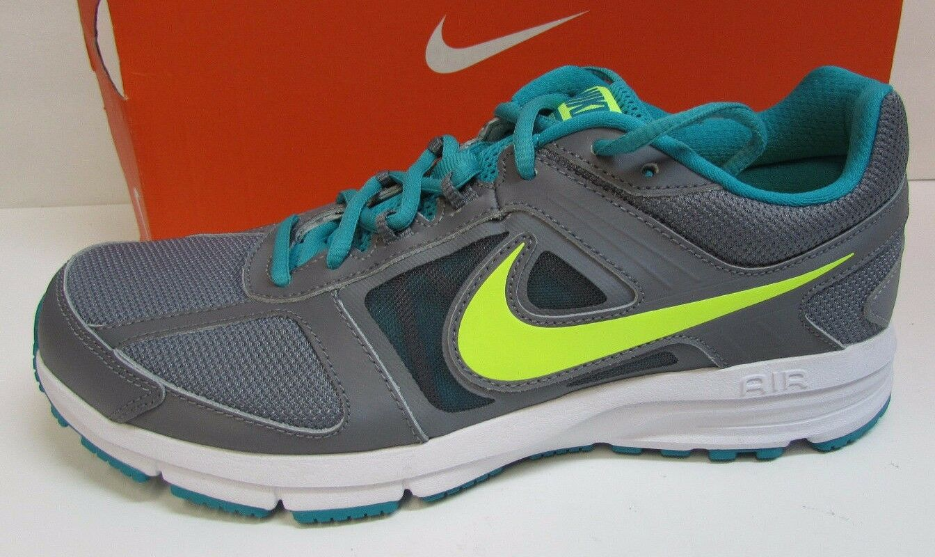 Nike  7.5 Air Grey Lime Sneakers New Womens Shoes