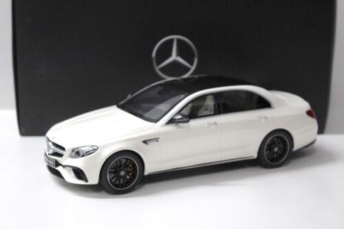 1:18 GT Spirit mercedes e63 s 4 matic White dealer New en Premium-modelcars