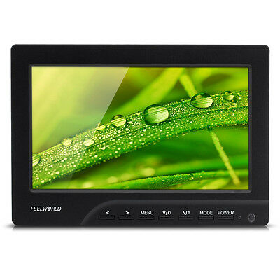 "Feelworld FW689-HD 7"" LED Camera Video Field Shooting Monitor DSLR 1080P HDMI 5D"