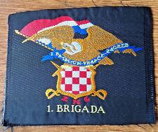 CROATIA ARMY  HV  - 1st Battalion 1st Brigade VRAPCE - sleeve patch