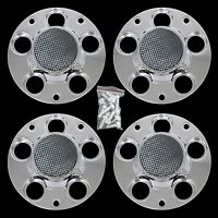 Set Of 4 Chevy Impala Police Package 16 Wheel Center Bolt On Hub Caps Rim Cover