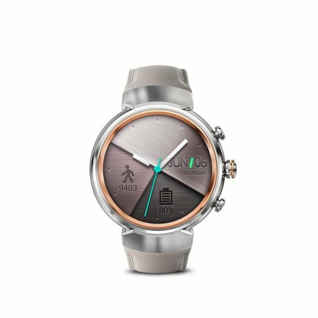 "Asus ZenWatch 3 WI503Q-SL-BG AMOLED 1.39"" Smart watch WiFi Beige Leather Silver"