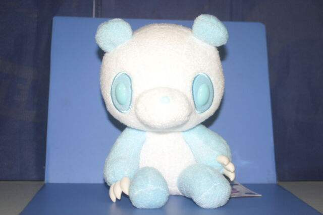 "Chax-GP Chack Gloomy Bear Panda Tone Sky Blue Plush Doll JPN ONLY 8"" CGP017"