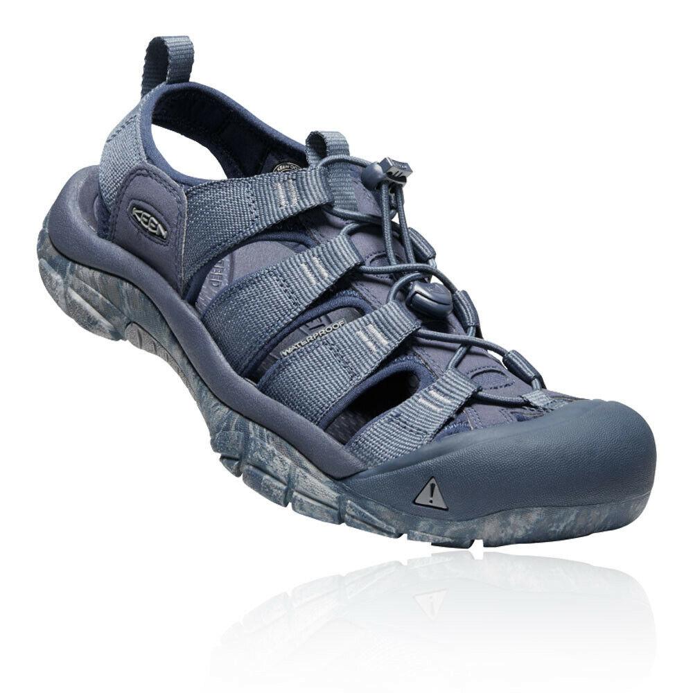 Keen Herren Newport H2 Sportschuhe Outdoor Wanderschuhe Schuhe Sandalen Blau