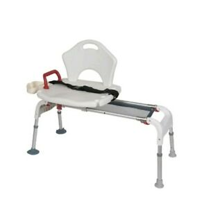 Prime Details About Drive Medical Folding Universal Sliding Transfer Bench White Model Rtl12075 Andrewgaddart Wooden Chair Designs For Living Room Andrewgaddartcom