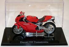 IXO DIECAST DUCATI 999 TESTASTRETTA MOTORCYCLE NEW & BOXED 1:24 G SCALE