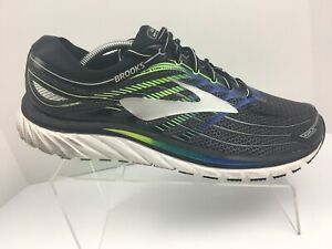 2280db2357e Brooks Glycerin 15 Black Silver Athletic Running Shoes Sneakers Mens ...