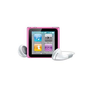 Apple Ipod Nano 6th Generation Pink 16 Gb Ebay