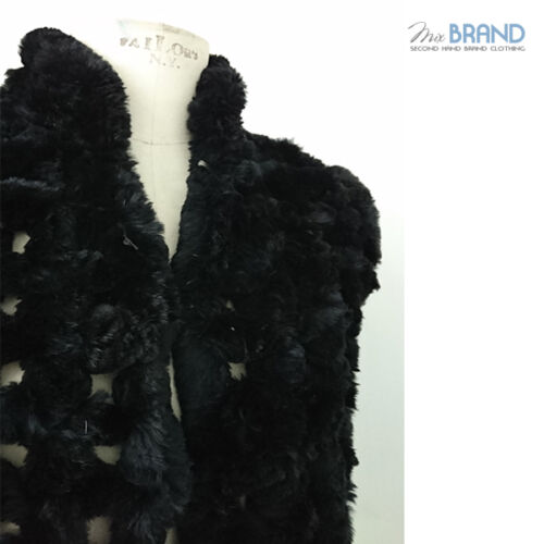 Pelliccia Mex Lapin Donna Art 4301 Pelz Smanicato Fur In EFqpwaZ