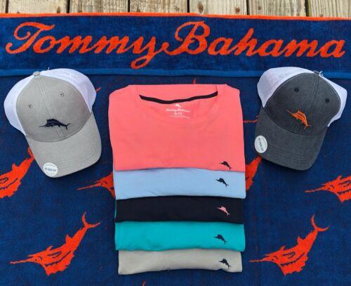 XL Blue Green Red Grey Tommy Bahama Men/'s Lightweight Crew Neck T Shirt S