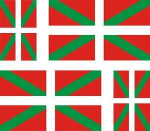 4-x-Autocollant-sticker-voiture-moto-drapeau-pays-basque