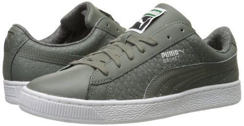 PUMA Men/'s Basket Classic Textured Sneaker