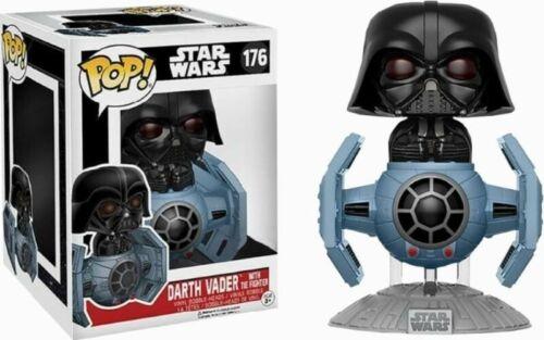 Darth Vader With Tie Fighter Exclusive Pop 15cm Figurine Star Wars