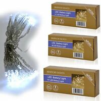 20/40/80 LED String Fairy Light Battery Operated Xmas Wedding & Party Decoration