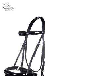 English Leather Snaffle Bridle Shetland//poney//Cob//Full Black//Brown Free p/&p