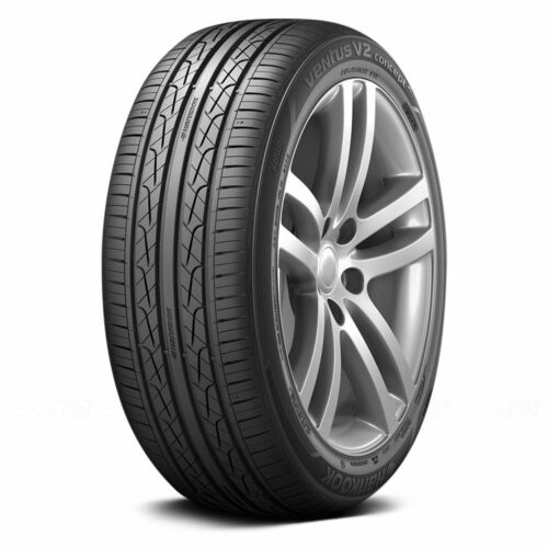 2 New 225//40R18 Hankook Ventus V2 H457 Tires 40 18 2254018 40R R18 Treadwear 500