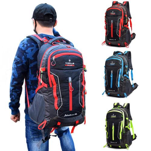 Men Backpack Waterproof Travel Camping Rucksack School Satchel Laptop Hiking Bag
