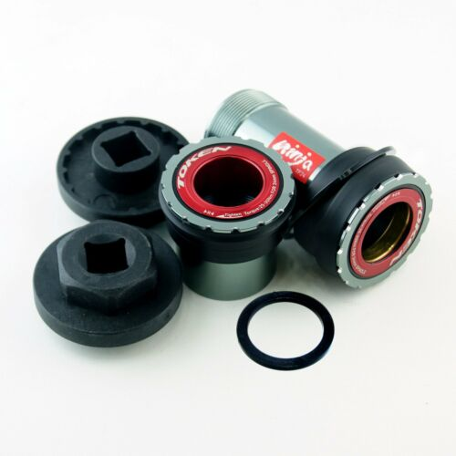Ceramic Bearing TOKEN Press Fit Bottom Bracket for Cannondale BB30A to SRAM GXP