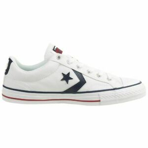 converse all star player canvas low top