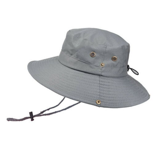Summer Men/'s Sun Hat Bucket Fishing Hiking Cap Wide Brim UV Protection Hat