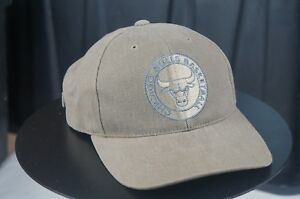 655ec4d588ffd2 Image is loading Rare-AMERICAN-NEEDLE-Chicago-Bulls-NBA-Basketball-Strapback -